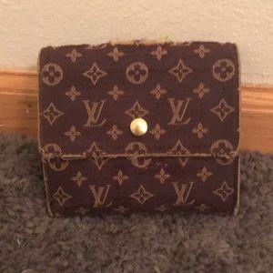 Authentic Louis Vuitton Monogram Canvas Wallet